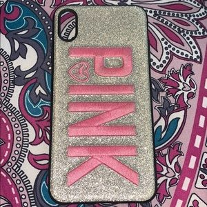 Pink Victoria Secret Case iPhone XS Max
